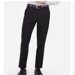 Black classic fit dress pant men's